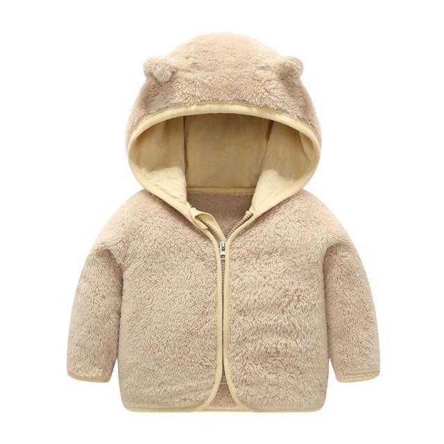 Hooded Fleece Baby Coat 3