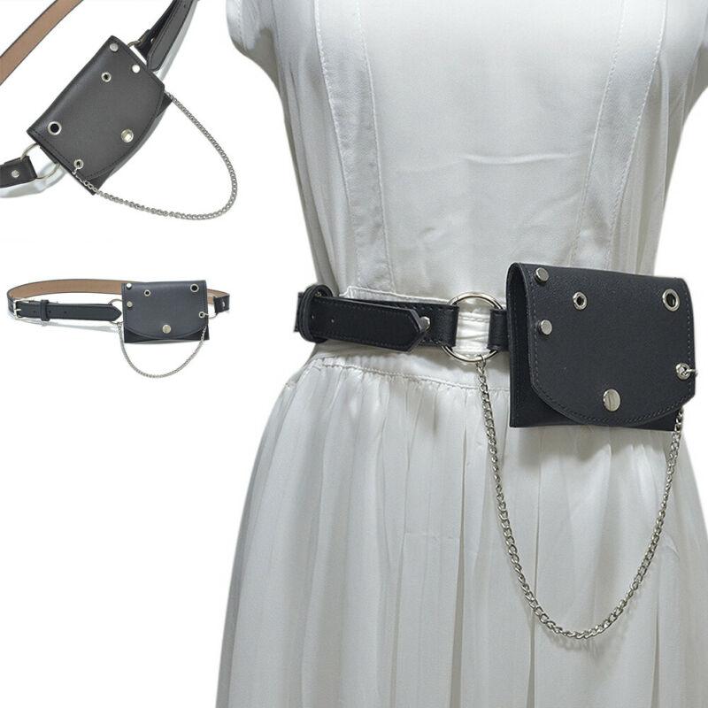Fashion Women Waist Bum Bag Fanny Pack Belt Leather Bag Holiday Travel Hip Bum Bag Small Purse Chest Pouch Money Wallet NEW