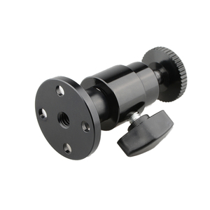 """Image 3 - Kayulin 1/4"""" 20 Mini Ball Head Wall Ceiling Mount for Monitor CCTV DVR Bracket stand Home Installation Surveillance System"""
