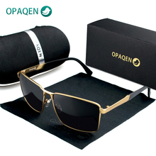 OPAQEN Man's Sunglasses Oversized Polarized TR-90 TAC Lens