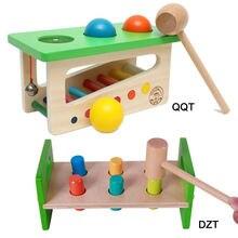 Музыкальные игрушечные молотки и маленькие колокольчики для