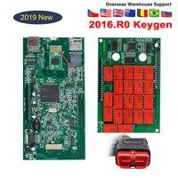 2019 OBD Obd2 Scanner New Vci Tcs Cdp Pro Plus with Nec Relays 201503R3 Keygen for Delphi Ds150e Bluetooth Car Diagnostic Tools