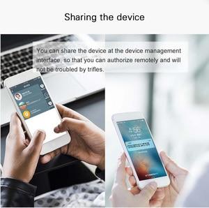Image 4 - TOWODE נייד חכם עמיד למים Keyless מנעול APP בקרת אנדרואיד IOS טלפון Bluetooth טביעות אצבע נעילת דלת מנעול