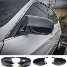2 шт настоящее углеродное волокно/АБС пластик зеркальное покрытие