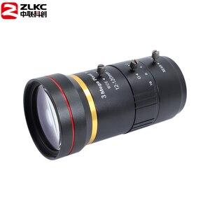 Image 4 - 3.0 megapixel 12 120mm hd cctv lente manual iris varifocal c montagem lente para câmeras ip lente baixa distorção fa