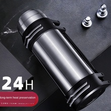 304 Stainless Steel Thermo Jug Vacuum Double-Layer Outdoor Sports Kettle Household Insulated Mug Business Gift