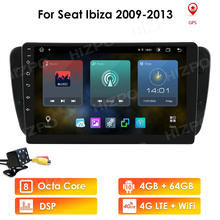Navigation Wifi-Head-Unit Multimedia Video-Player Car-Radio Seat Android10 9inch 2-Din