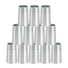 12Pcs/Pack Golf Ferrules .370 Aluminum for Irons Shafts Golf Club Accessories