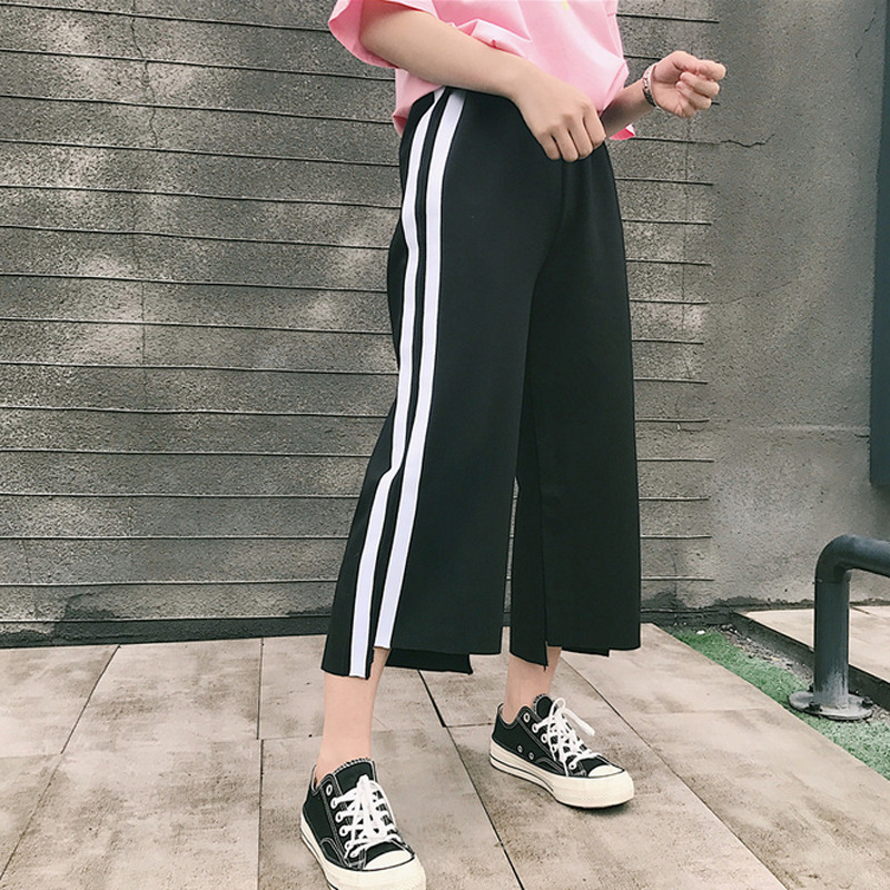 Official Website Loose Pants <font><b>Children</b></font> Spring And Summer Korean-style Loose-Fit Versatile Students Harajuku <font><b>BF</b></font> Casual Sports Pant image