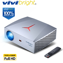 100% ORIGINAL VIVIBright Real Full HD 1920*1080P Digital Projector F40/F40UP WIF