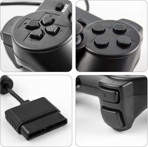 Image 4 - Wired Controller Gamepad For Sony PS2 Playstation 2 Console Game Joystick For PS2 Dual Shock Vibration Dual Shock Wired Controle