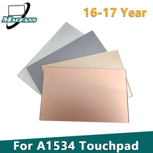 Replacement A1534 Touchpad for Macbook retina A1534 Trackpad 2016-2017 Year Gray / Dark Gray / Gold / Rose Gold