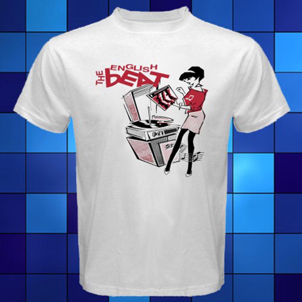 The English Beat Two Tone SKA Funny Men Women Vest Tank Top Unisex T Shirt 1918
