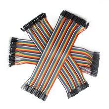 Dupont – câble de raccordement 30CM, câble en cuivre mâle à mâle + femelle à mâle + femelle à femelle