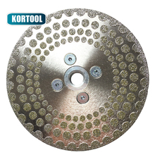 Electroplated Diamond Cutting Disc Grinding Wheel Both Side Coated Saw Blade for cuttting marble tile M14 Thread 3pcs pk 230mm electroplated reinforced diamond cutting disc 9 inches coated blade with m14 thread for marble granite stone