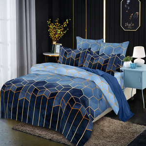 LOVINSUNSHINE Geometry Duvet cover Single Double Queen King Quilt Cover Comfortable vb01#