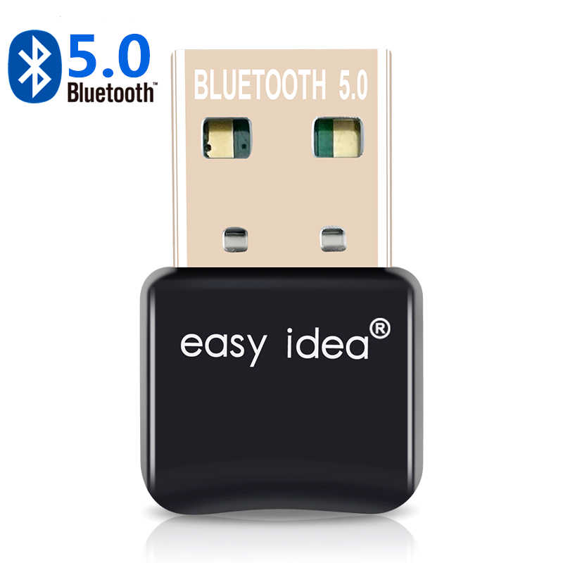 Adaptador de Bluetooth USB 5,0, Dongle Bluetooth Blue Tooth, transmisor CSR 4,0, receptor de Audio y música para ordenador, PC y portátil