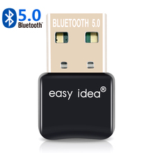 USB Bluetooth 5.0 Adapter Dongle Blue Tooth Transmitter CSR 4.0 Audio Music Receiver for Computer PC Laptop
