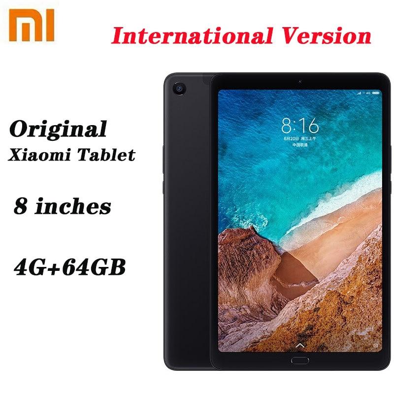 Original xiaomi tablet 4g + 64gb cpu tablet 8.0 16:10 tela 13mp bluetooth 5.0 6000mah bateria almofada xiaomi 8 polegadas
