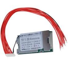 Placa de proteção 10 s 36 v 30a li-ion cell 18650 bms placas de proteção de bateria com função de equilíbrio placas de proteção de bateria