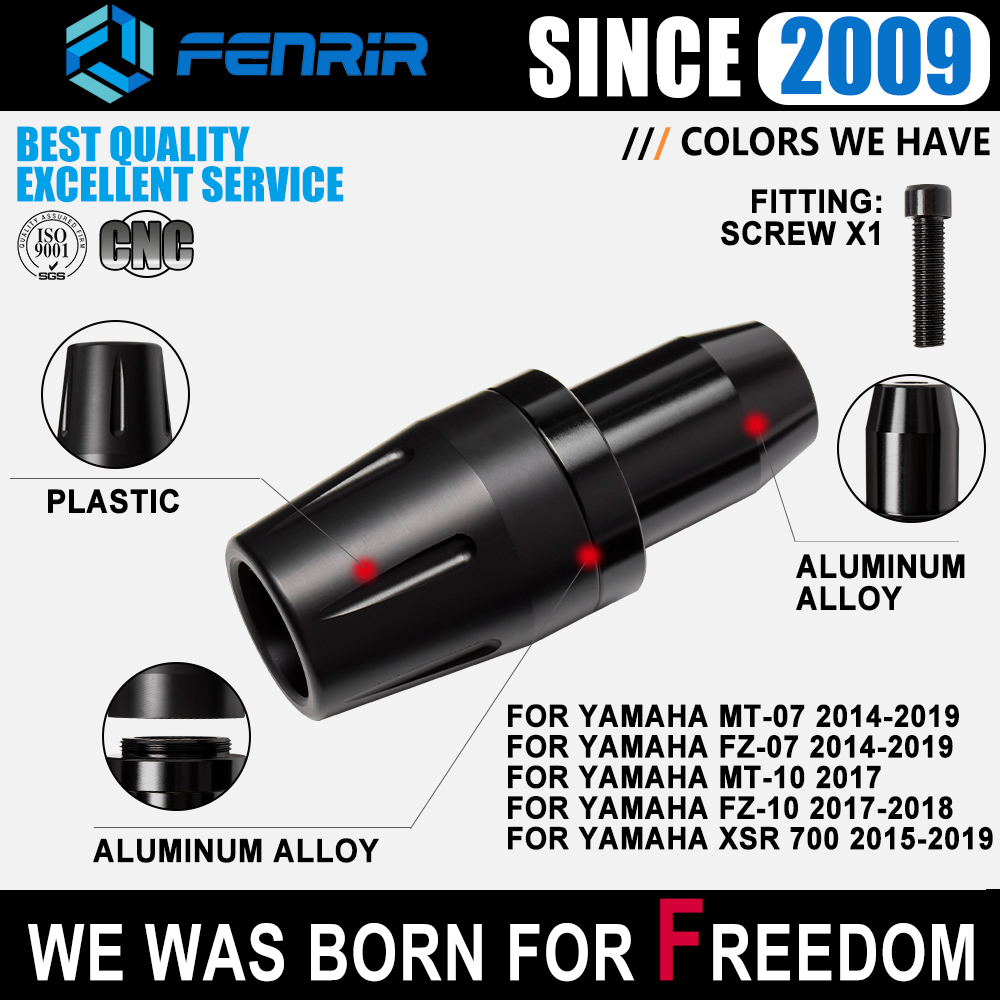 Motorcycle CNC Aluminum Body Frame Sliders Falling Protection for YAMAHA MT-07 MT-10 FZ-07 FZ-10 XSR 700 MT07 MT10 FZ07 FZ10