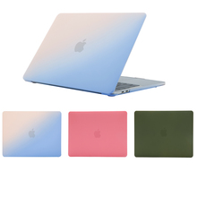 Ultra-thin solid color notebook plastic case for Apple MacBook Air Pro Retina 11 12 13 15 inches, suitable for A1708 A1707 model