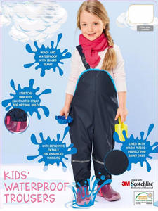 Suspenders Pants Girls Waterproof Children Boys And Bib
