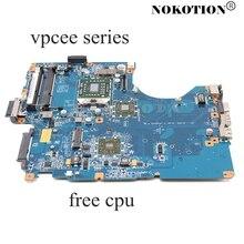 NOKOTION A1784741A PCG61611M DA0NE7MB6D0 DA0NE7MB6E0 노트북 마더 보드 SONY VAIO vpcee 시리즈 HD4200 메인 보드 무료 cpu