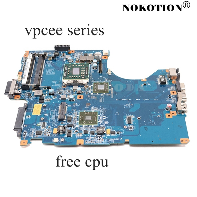 NOKOTION A1784741A PCG61611M DA0NE7MB6D0 DA0NE7MB6E0 laptop motherboard for SONY VAIO vpcee series HD4200 Main board free cpu