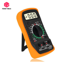 Portable Digital AC/DC mastech Electrical Multimeter Backlight Ammeter Voltmeter Ohm Tester Meter Handheld LCD Multimetro mastech ms8268 digital multimeter autorange ac dc voltmeter ammeter resistance capacitance frequency tecrep electrical tester