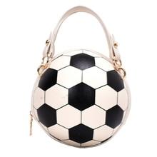 Tote Purse Handbag Volleyball Satchel Round Crossbody-Bag Chain-Shoulder Messenger Women
