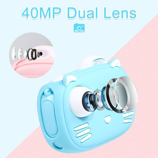 Детский фотоаппарат с мгновенной печатью Minibear D1