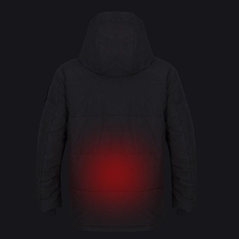 homens com capuz inverno quente aquecido roupas 05