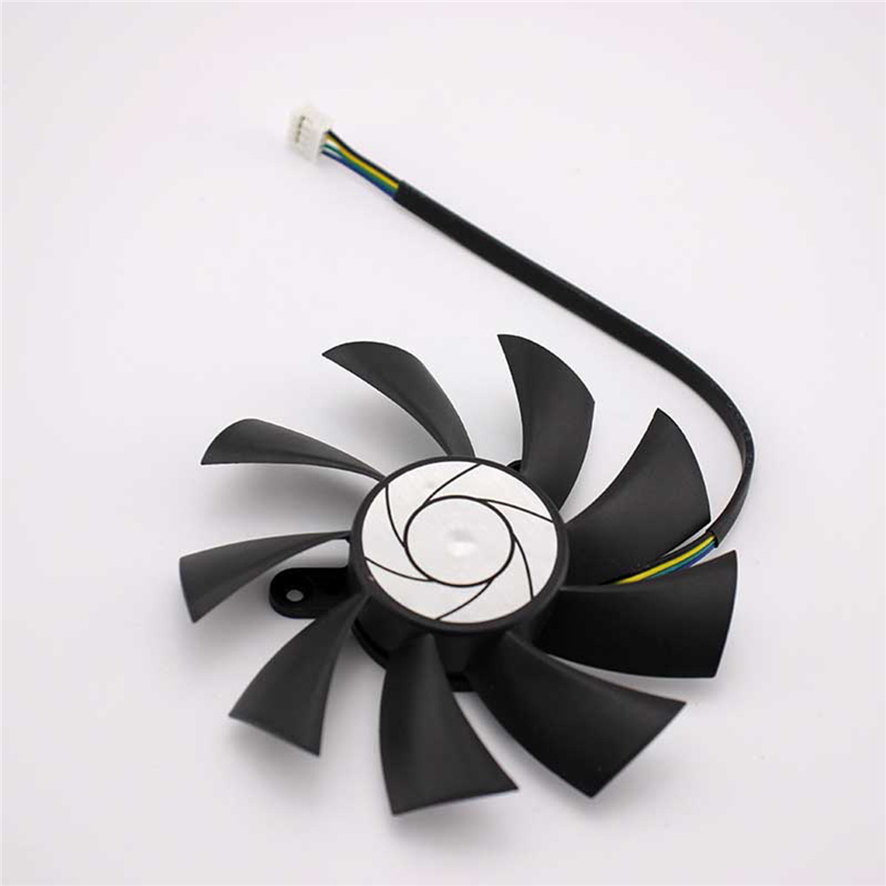 DC 12V HA9015H12F-Z Cooling Fan 4-Pin Cooler for MSI R7 360 <font><b>2GD5</b></font> OC For MSI <font><b>GeForce</b></font> <font><b>GTX</b></font> <font><b>950</b></font> <font><b>2GD5</b></font> OC /<font><b>GTX</b></font> 1060 Graphics Card image