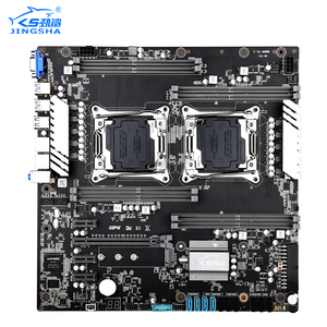 JINGSHA Dual Socket x99 Материнские платы LGA 2011 V3/V4 Dual Gigabit Ethernet VGA, USB3.0,10 * SATA3.0, NVMe M.2, 8 * DDR4 до 256 ГБ