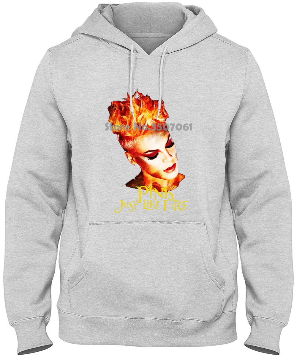Brand Short Just Like Fire <font><b>P</b></font> <font><b>Nk</b></font> Crew Neck Short Sleeve long Sleeve For Men Youth Whites winter coat streetwear tshirt <font><b>t</b></font> <font><b>shirt</b></font> image