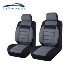Housse de siège de voiture pour ford toyota lada kalina granta priora   Couvre-siège avant de voiture 2, universel