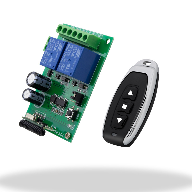 Motor Reversing Controller 12 V/24 V Dc Motor Wireless Remote Control Electric Putter Controller