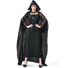 Роскошный готический костюм ведьмы для взрослых женщин на Хэллоуин