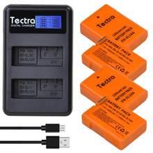 4 batteries enl14 ENEL14A, 1530mAh, 4 pièces, pour Nikon D7800,D7000,D5500,D5300,D3300,D3100 + double chargeur/EN-EL14 couleur Orange