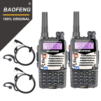 цена на 2PCS Baofeng UV-5RA Walkie Talkie Upgraded Version UV 5RA Dual Band CB Radio VOX FM Transceiver for Hunting Two Way Radio