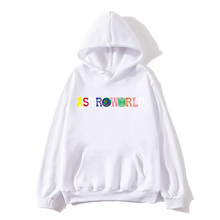 TRAVIS SCOTT ASTROWORLD sweatshirt with hood, WISH YOU HERE lettering hoodie, men and women street wear