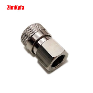 "Image 2 - Paintball PCP Air Gun Rifle Charging Fill Fitting 8mm Copper/Stainless Quick Disconnect Connector 1/8"" NPT Female Socket Realse"
