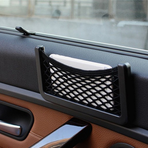 Car Net Bag Phone Holder Storage Pocket Organizer For UAZ 31512 3153 3159 3162 Simbir 469 Hunter Patriot Car Accessories