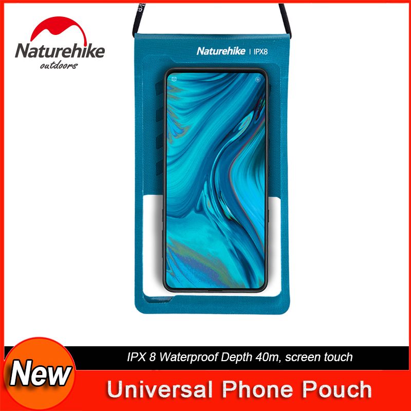 NatureHike Universal Waterproof Phone Pouch Dry Bag Underwater Phone Case High Sensitivity Screen Touch For Swim Scuba Diving