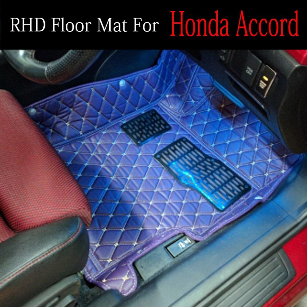 Conduite à droite/RHD pour Honda City 4th 5th 6th génération 5D tapis de sol style voiture tous temps (2003-maintenant)