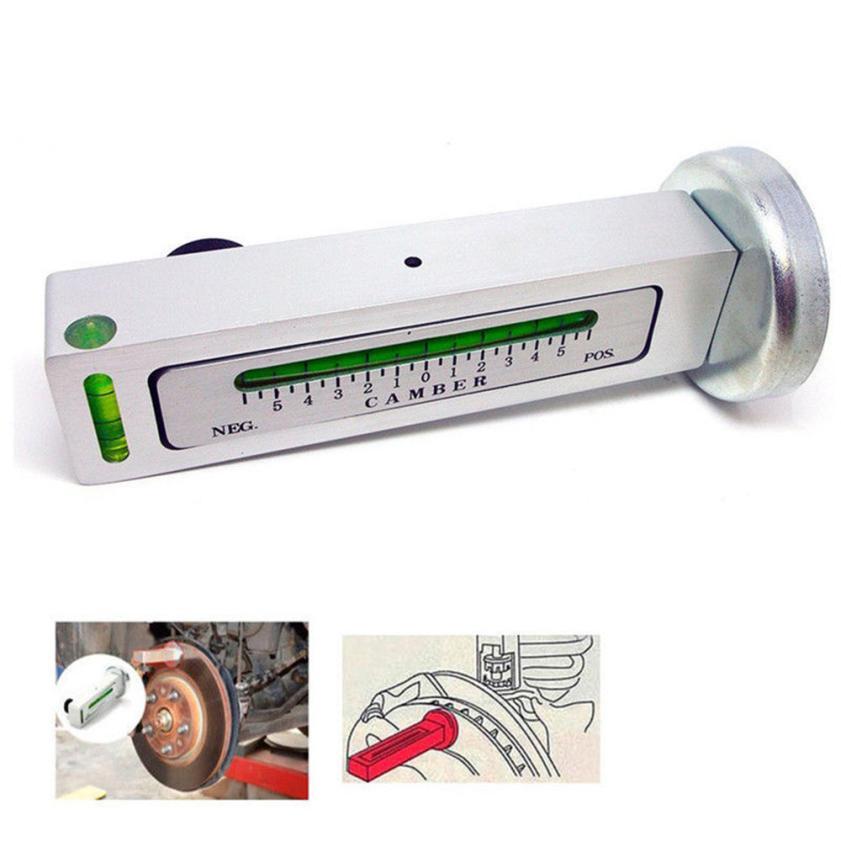 CARPRIE Alignment Gauge Uitlijning Meter Aadjustable Magnetic Camber Castor Strut Wheel Tool for Universal alignment gauge jul16