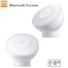 Xiaomi Mijia לילה אור 2 Bluetooth גרסה מתכוונן בהירות אינפרא אדום חכם אדם גוף & אור חיישן לעבוד עם Mijia App