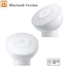 Умный ночной Светильник Xiaomi Mijia, Bluetooth версия с регулируемой яркостью и инфракрасным датчиком освещенности, работает с приложением Mijia