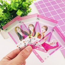 Twice Blackpink Got7 PVC Transparent Photo Card New Album Photocard Fans Collection Gift(China)